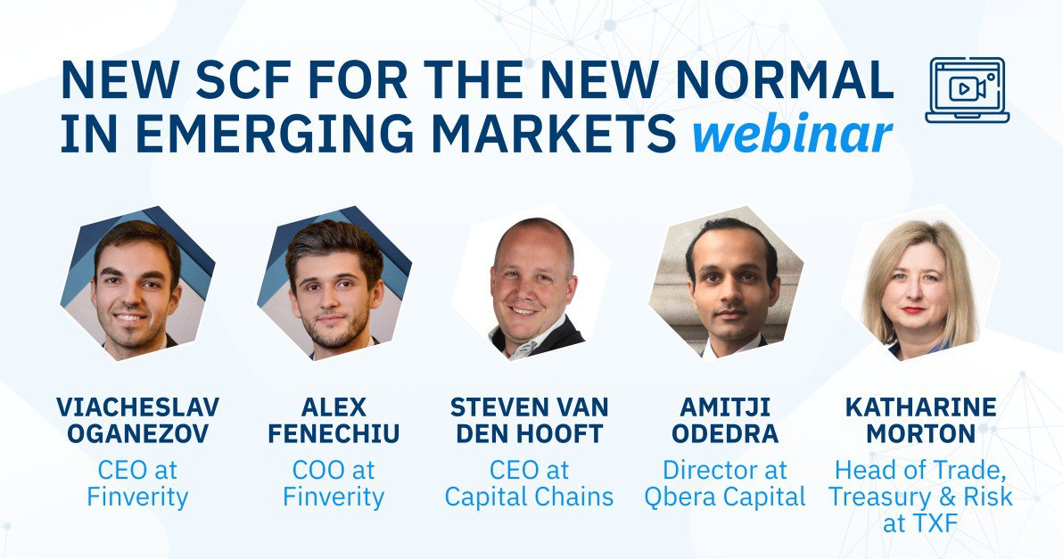 New supply chain finance, the new normal in Emerging Markets (TXF webinar)